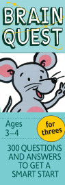 Brain Quest for Threes Q&A Cards - cover