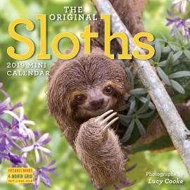 The Original Sloths Mini Wall Calendar 2019 - cover