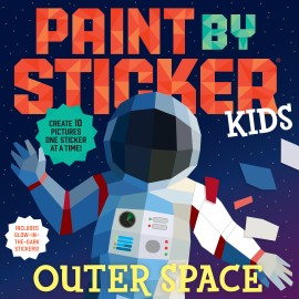 Paint by Sticker Kids: Outer Space - cover