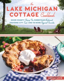 The Lake Michigan Cottage Cookbook - cover